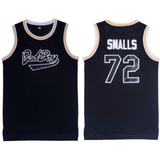 The Notorious B.I.G. Bad Boy Biggie Smalls 72 Juicy 90s Hip Hop BLACK basketball Jersey