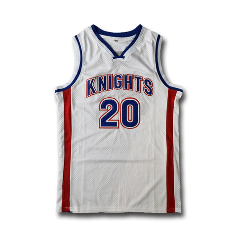 Stephen Curry Charlotte Knights High School Jersey Yellow