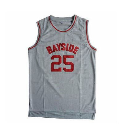 Saved by the Bell Bayside Tigers High School Zack Morris 90s Basketball Jersey