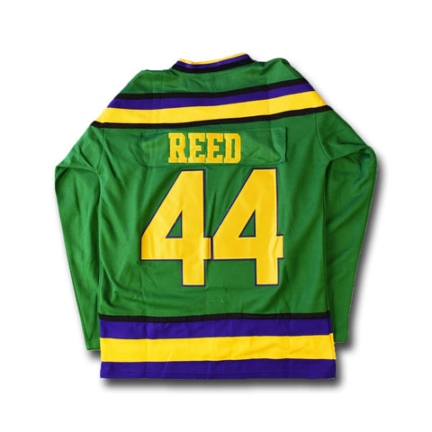 Mighty Ducks Fulton Reed 44 Hockey Movie Jersey