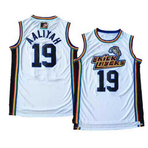 Aaliyah 90s Hip-Hop R&B Music Basketball Jersey