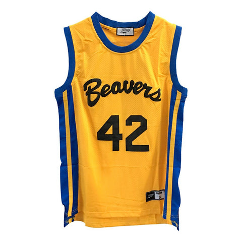#42 Howard Teenwolf Beavers Basketball Jersey