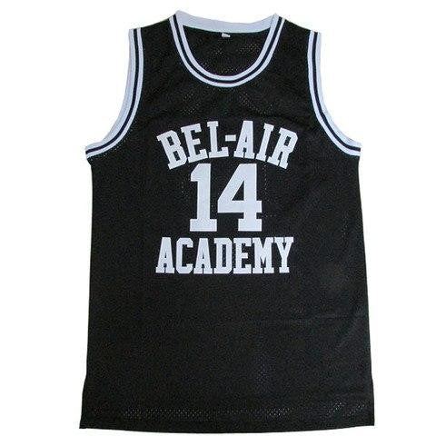 The Fresh Prince of Bel-Air BLACK Basketball Jersey