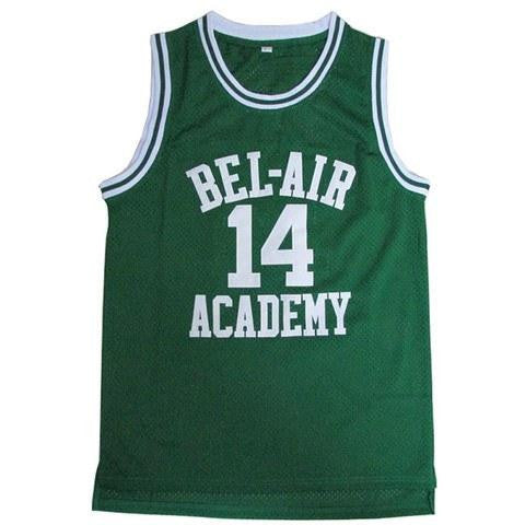 The Fresh Prince of Bel Air GREEN Basketball Jersey