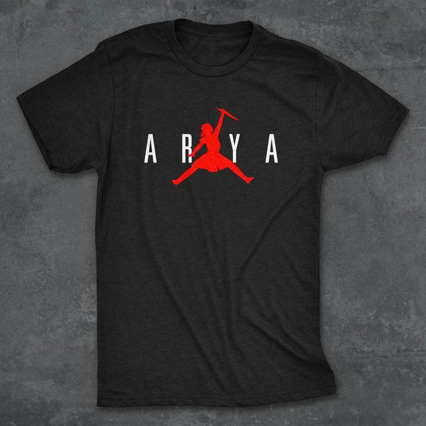 "Arya Stark ""Not Today"" Jumpman Game of Thrones T-Shirt"