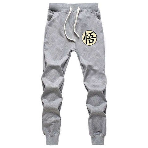 Dragon Ball Goku Jogger Grey