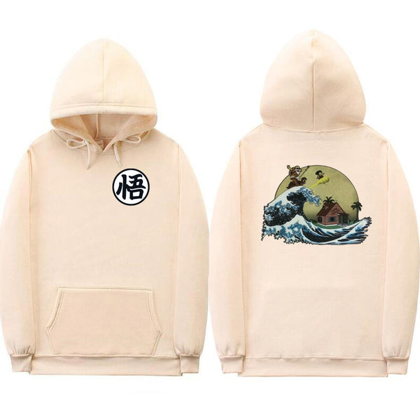 Dragon Ball Goku Great Wave Lifestyle Hoodie