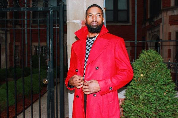 The executive Red coat