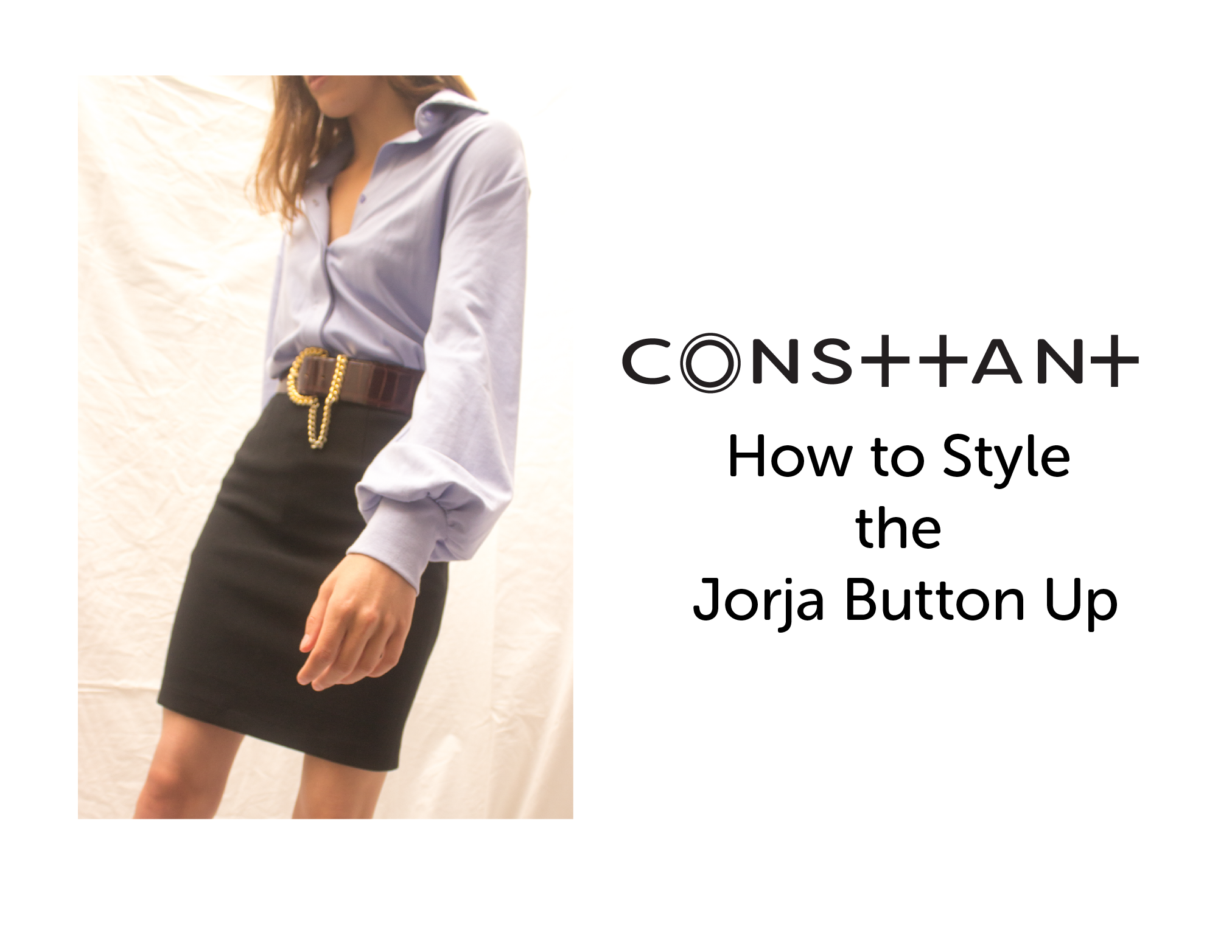 How to Style the Jorja Button Up