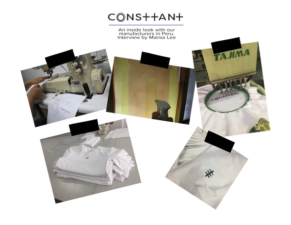 Interview with Peru manufacturers for Consttant clothing