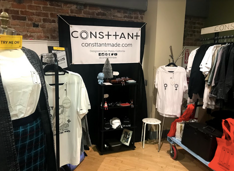 Women x Made Consttant San Francisco Pop Up Shop Mission District