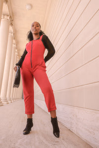 womens cotton knit jumpsuit