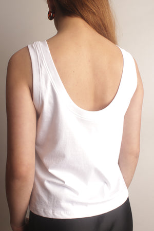 Misa Low Scoop Tank Top