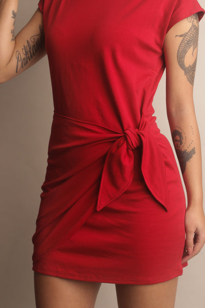 little red travel dress for your next trip
