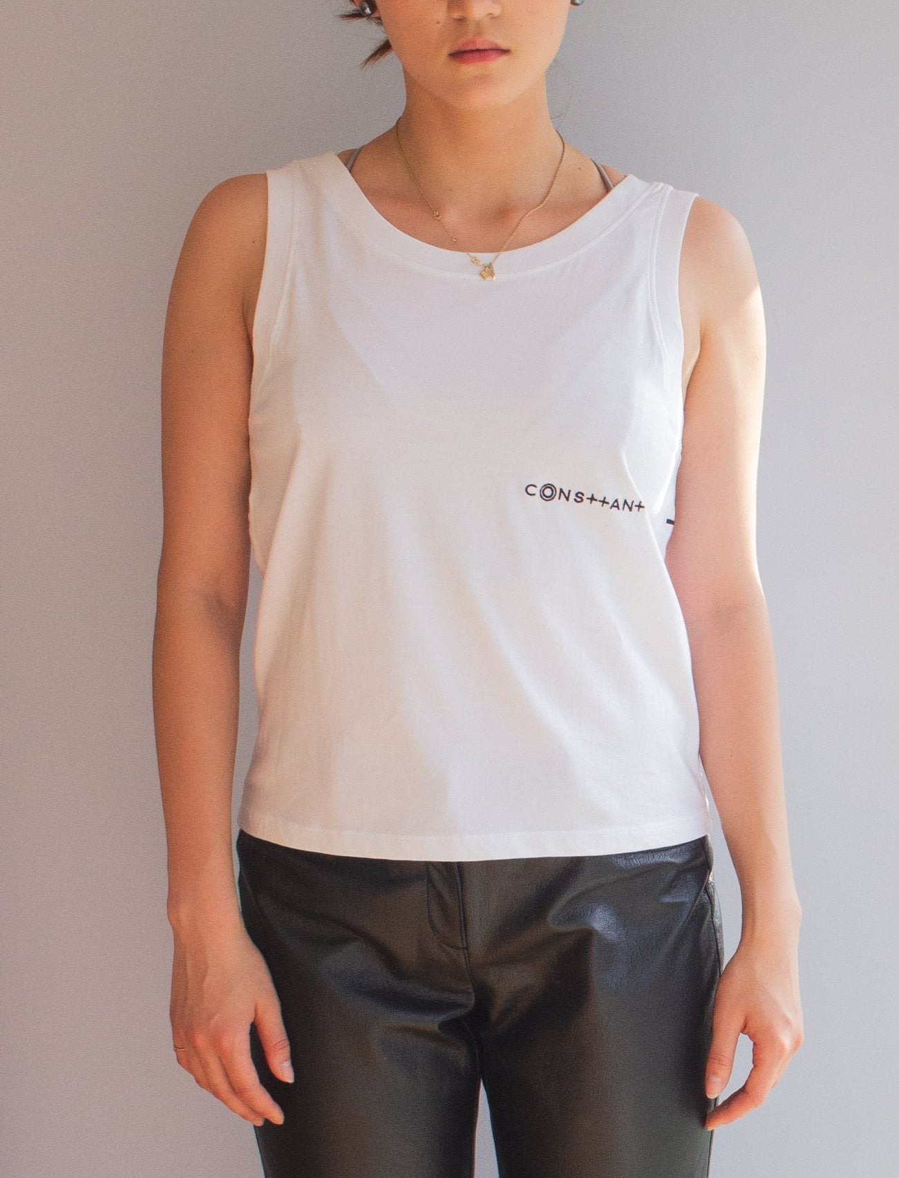 cotton knit womens tank top