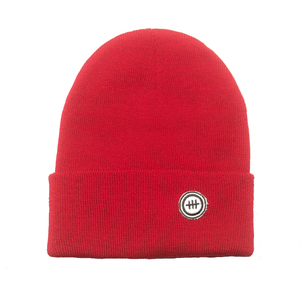 Consttant Cozy Knit Beanie ~ Scarlet Red