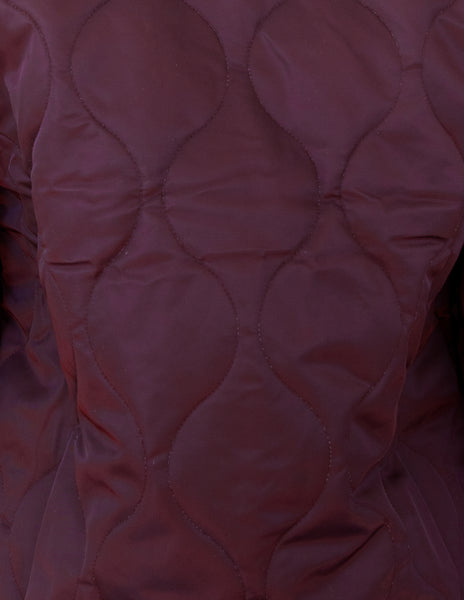 Espen Quilted Jacket ~ Wine