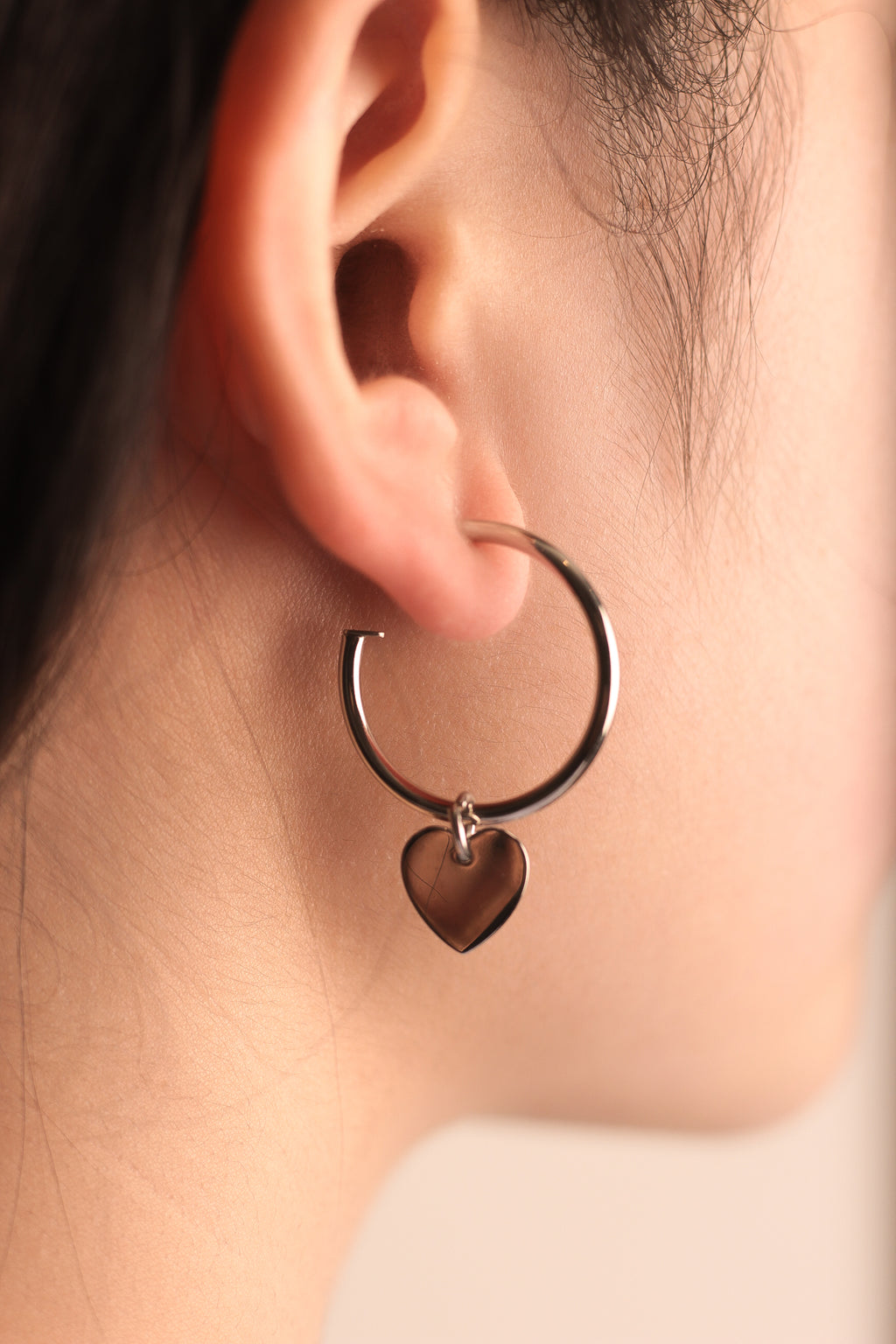 Mini Lovers Hoop Earrings