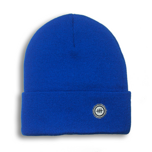 Consttant Cozy Knit Beanie ~ Electric Blue