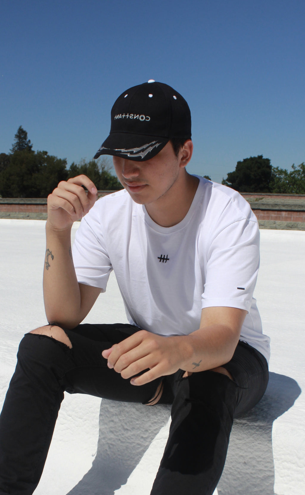 Embrace your originality in Consttant's newest arrivals of caps designed in California