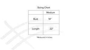 Consttant made clothing sizing chart