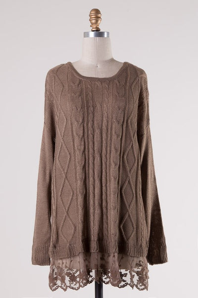 ADELYNN SWEATER TOP-Lydia LLC