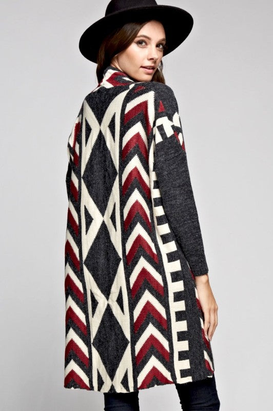 AHANU LONG CARDIGAN-Lydia LLC