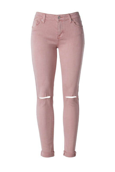 ROSE HIGH WAIST DENIM-Lydia LLC