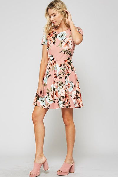 AVERY FLORAL DRESS-Lydia LLC