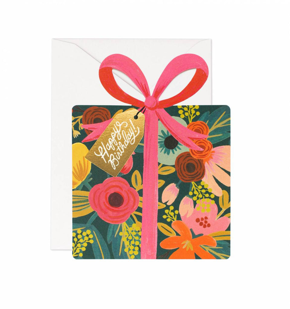 BIRTHDAY PRESENT CARD-Lydia LLC