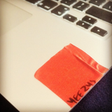 Yeezus red tape sticker -  - 6