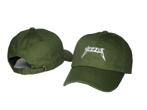 Yeezus Hat Green White