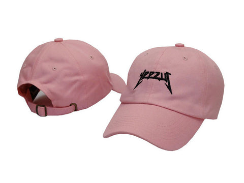 Yeezus Hat Pink/black