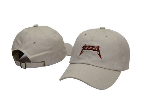 Yeezus Hat White/Red