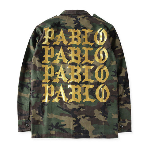 2016 Autumn Winter Yeezy Season 3 Kanye West Pablo Camouflage Army Green - RawSells