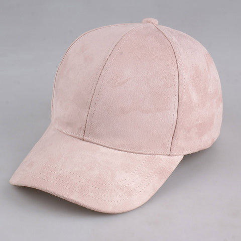 Suede Hats  baby pink