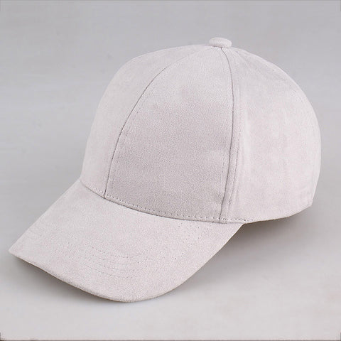 Suede Hats  Light gray
