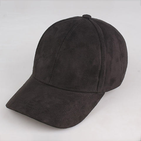 Suede Hats  Black