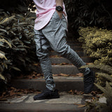 2016 Fashion Kanye West Pants Yeezy Boost Fear Of God Men Skinny Slim Trousers hip hop Side With Zipper Casual Harem Pants Men