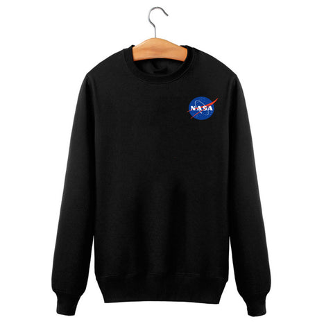Autumn and winter new listings NASA sweatshirt male / female alien quality cotton pullover men size s-xxxl -  - 8