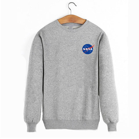 Autumn and winter new listings NASA sweatshirt male / female alien quality cotton pullover men size s-xxxl - RawSells