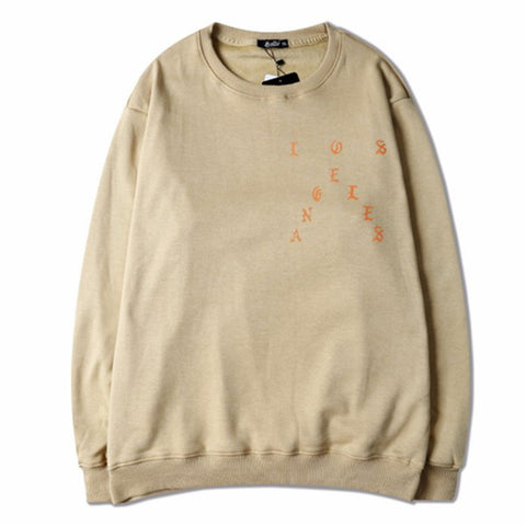 Tan The life of Pablo sweatshirts pablo merch - RawSells