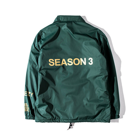 Yeezy Season 3 Windbreaker Green