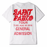 Saint Pablo tour short sleeve -  - 2