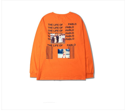 The Life Of Pablo Orange Long-Tee -  - 1