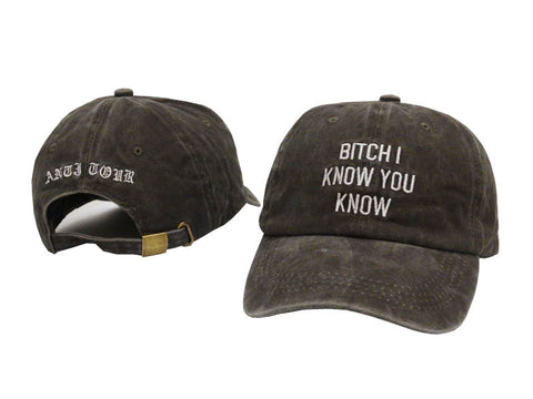 Anti Tour Hat  Gray