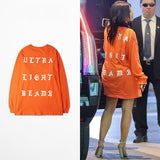 Ultra Light Beams Orange Pablo merch As seen on Kanye west and Kim kardashian. -  - 2