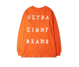 Ultra Light Beams Orange long tee, Kanye west pablo merch - RawSells