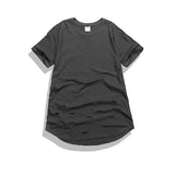 Kanye West Extended kanye west Distressed T Shirts for Men Hip Hop Swag Casual T-shirt Homme Camiseta Camisa Masculine Maglietta - RawSells