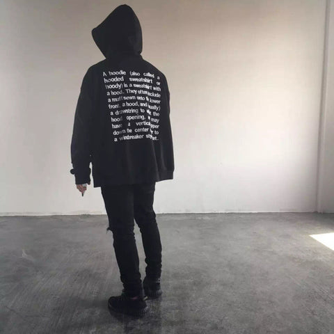 Knaye West fear of god yeezy Vetements Hoodies Men and Women swag Oversize letter embroidery hoody Cooo Coll -  - 8